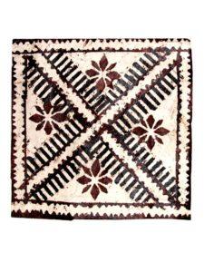 Square Tapa Fabric, 12″ x 12″