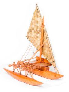 Outrigger Canoe (Takia), 15″
