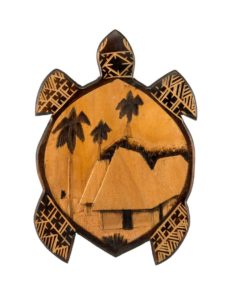 Wooden Turtle (Vonu), 8″x 12″