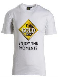 Mens Fiji Gold Crew T-Shirt
