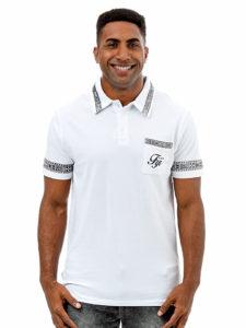 Polo T-Shirt-Tapa Print