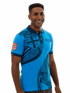 Fiji Flag Polo Shirt