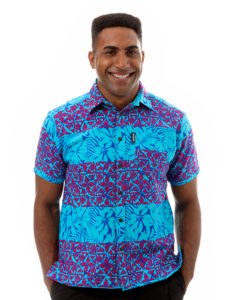 Kai-Veikau Bula Shirt – Tapa With Floral