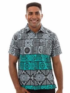 Kai-Veikau Bula Shirt (Cb-021) – Border Tapa
