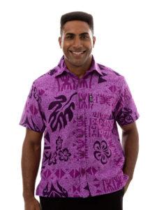 Kai-Veikau Bula Shirt – Turtle With Floral