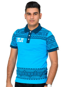 Fiji Flag Polo T-Shirt Order 2