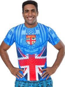 Men's Fiji Flag Sublimation T/Shirt