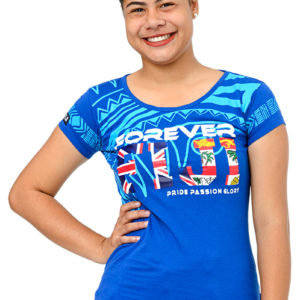 Women's Fiji Flag T-shirt