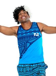 Fiji Flag Vest Fiji  Jl18-013