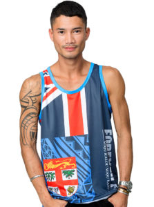 Fiji Flag Sublimation Vest Jc18-012