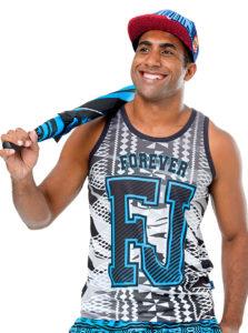 Fiji Flag Sublimation Vest Jc18-014