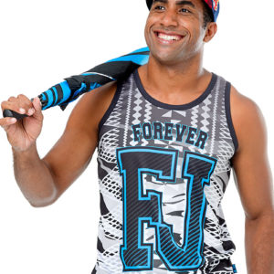 fiji flag sublimation vest