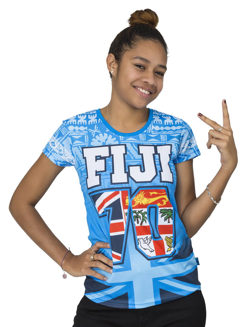 Fiji Flag Sublimation T-Shirt