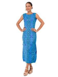 Divah Long Printed Dress