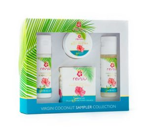 Reniu Sample Collection Box – Hibiscus