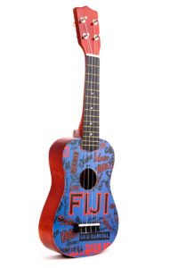 Ukulele, 55cm, Blue – Fiji Islands