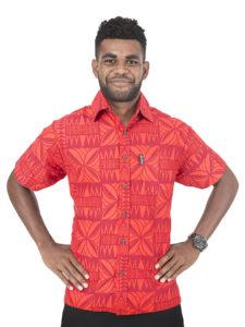 Men's Kaiveikau Shirt ( B Day Tapa)