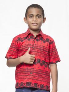 Boys' Canoe Club Bula Shirt (Niu)