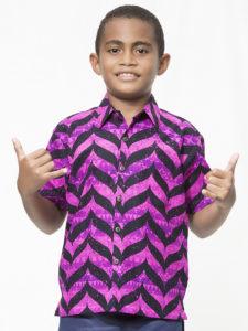 Boys' Aisokula Bula Shirt, Chamke
