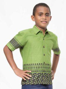 Boys' Aisokula Bula Shirt (Sarauta)