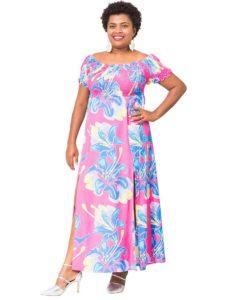Divah Off Shoulder Long Dress
