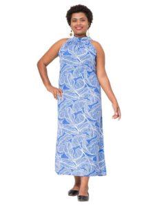 Divah Long Halter Neck Dress