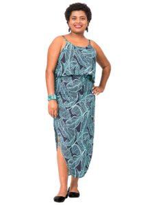 Divah Long Strap Dress