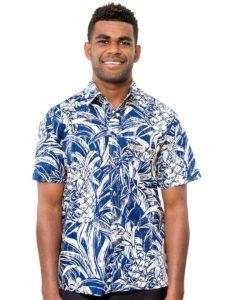 Men's Kaiveikau Premium Shirt, Pineapple Story