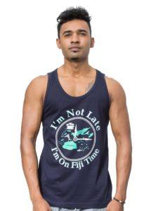 Fiji Islands Vest, I am On Fiji Time