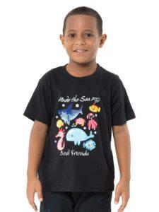 Boys Tees With Bula Fiji Print