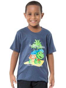 Boys Tees With Turtle Print