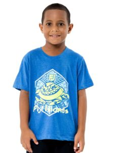 Boys Tees With Fiji Print