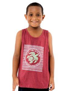 Boys Vest With Turtle Print