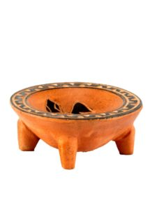 Tanoa with Rim & Inside Carved, 3″