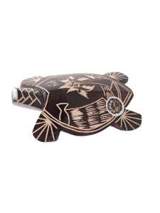Mako Turtle, Carved, 6″