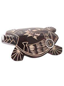 Mako Turtle, Carved, 9″