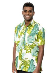 Men's Kaiveikau Premium Shirt, Banana Leaf