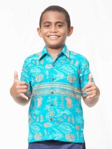 Boys' Aisokula Bula Shirt