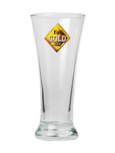 Fiji Gold Pilsner Glass, 11oz
