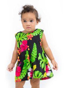 Infant Girls Dress, Short Sleeve