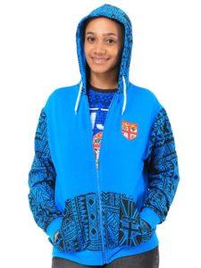 Fiji Flag Hoodie, Long Sleeve
