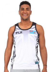 Men's Fiji Flag Sublimation Vest