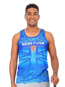 Men's Fiji Flag Sublimation Vest