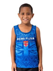 Boys' Fiji Flag Sublimation Vest