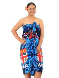 Fiji Flag Polyester Sarong
