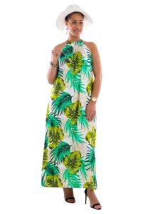 Divah Women's Halter Neck Dress