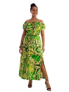 Divah Women's Off shoulder Long Dress