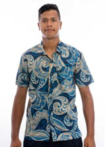 Men's Kaiveikau Bula Shirt