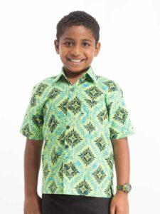 Boy's Canoe Club Shirt, Vine