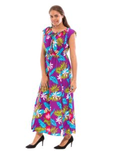 Divah Long Dress with Belt